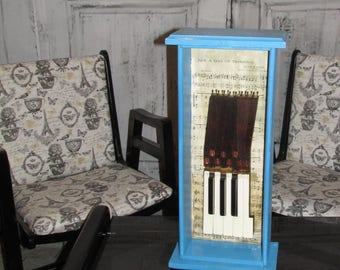 Piano Key Art Sculpture Wall or table top Decor
