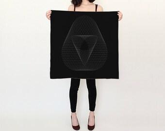 BlackMoon.Yoga - Dark Matter - scarf altar cloth
