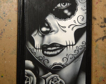 5x7 in Art Block Plaque - Ready to Hang Art Print Mounted on Wood - Lolita