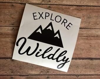 Exploe Wildly Decal