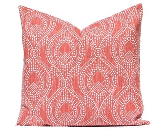 Throw Pillow Cover - Brick Red Pillow Cover - Designer Pillows - Red Pillows - Sofa Pillow Covers - Living Room Decor - Home Accents