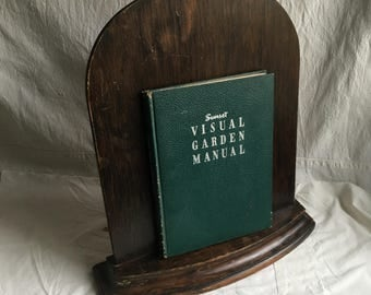 Vintage wood book stand  easel stand  speakers easel  sermon stand