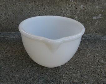 sunbeam opal glass mixer bowl glasbake small mixer bowl white glass