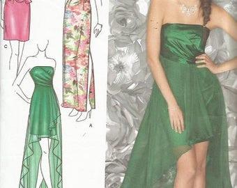 Simplicity 1656 Jessica McClintock Evening Dress Pattern 4-12