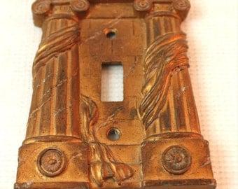Greek Column Light switch cover