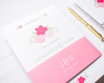 ADD ON: Belly Band | Harriet Wedding Stationery Collection | Hand Lettered Wedding Stationery