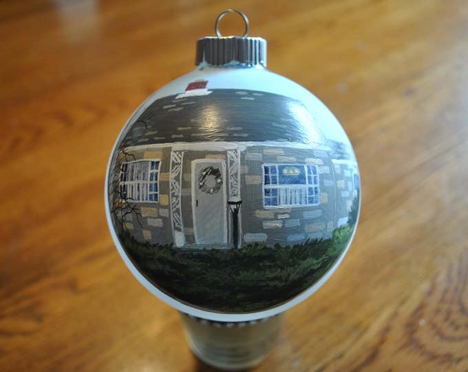 New Custom Hand Painted ornament sorry sold