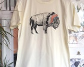 Bison | Screen Printed Organic T-shirt | 100% cotton | (ONLINE PRICE)