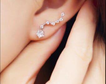 Little dipper constellation earring