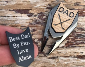 Golf gift for men, Personalized Golf Ball Marker & Divot Tool,Fathers Day Gift,Husband Gift,Brother Boyfriend Son Dad Gift,Graduation Gift