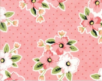 Olive's Flower Market - Nosegay in Pink by Lella Boutique for Moda Fabrics