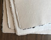 10 Sheets Large Handmade Paper - Imperfect sheets - 16x20