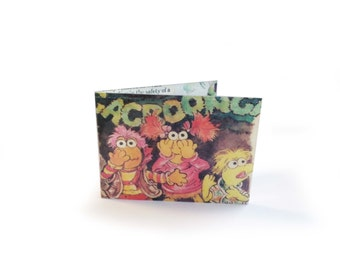Fraggle Rock Oyster Card Holder - Vintage comic in vinyl - for metro, rail, subway, tube, bus cards