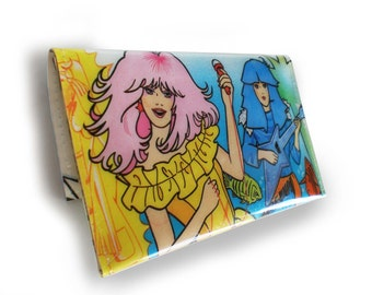 Jem and the Holograms Purse - Recycled Book Page in Vinyl