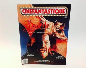 Vintage Magazine Cinefantastique December 1990 Dark Shadows