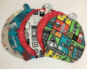 Video Game Movie Geek Baby Burp Cloths - Mad Burps - Single or Set of 3