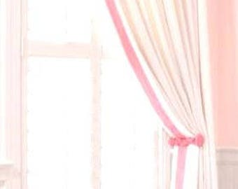 Grosgrain curtains | Etsy