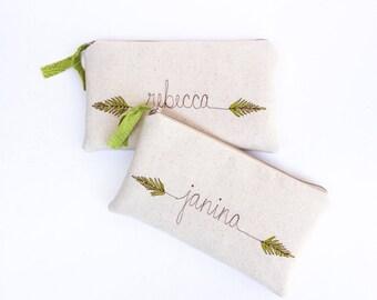 Green Wedding, Forest Wedding, Fern Print Clutch, Wedding Accessory, Personalized Bridesmaid Clutch, Greenery Wedding Purse