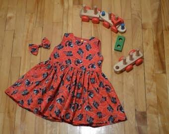 Retro style tunic/dress