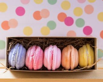 Bath Macarons - Shea Butter Bath Cookies