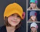 Kids Crochet Hat Pattern, Crochet Pattern for Kids, Kids Crochet Pattern, Crochet Hat Pattern, Textured Sunshine Beanie Hat Pattern #109