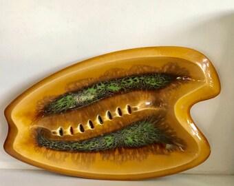 Mid Century Large Art Ashtray/Dish
