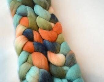 Polwarth silk spinning top Bula 3.9 oz, roving
