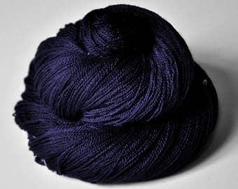 Königin der Nacht - Merino/Silk/Cashmere Fine Lace Yarn