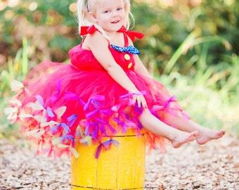 Circus Tutu Dress by Atutudes as seen in Ella & Annie Magazine | Circus Ringmaster Costume | Ringmaster Tutu Dress | Circus Tutu Dress