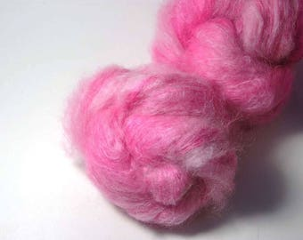 HANA Kidmohair Silk in Rebel Rose - One of a Kind