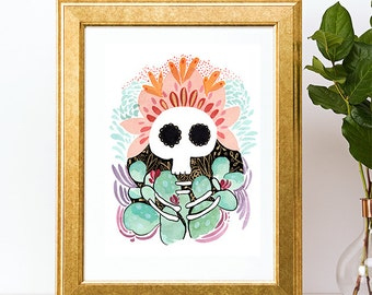Day of the dead - Art Print