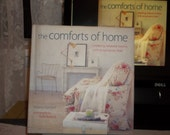Comforts of Home Decor Book First Edition Vintage Romantic Home Decor