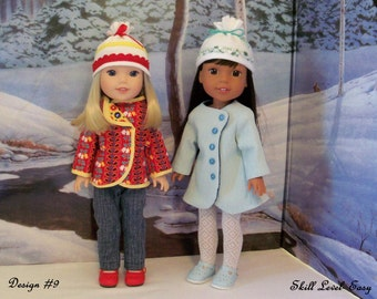 NEW! Wellie Wisher® Size PRINTED Sewing Pattern: A Wellie Cold Winter/ Sewing Pattern for American Girl  Wellie Wishers®