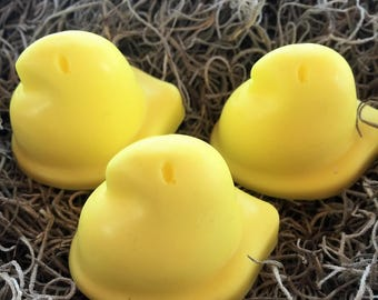 Chick/Peeps Soap Favors: Easter Favors, Baby Sprinkle Favors, Baby Shower Favors, Birthday favors, Soap favors,Peeps Favors, Spring Favors