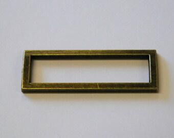 Sliders 2 Bar 50mm - Antique Brass
