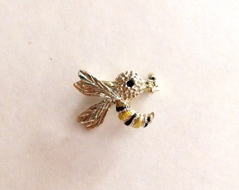 Vintage SAVE THE BEES Bumblebee Brooch, Gerrys Jewelry