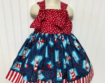 Dr. Seuss Cat in the Hat Girls Dress size 3t