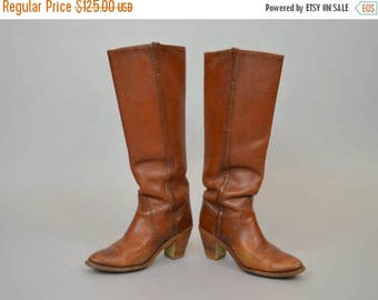 MAY SALE FRYE Leather Campus Boots (Us 6)