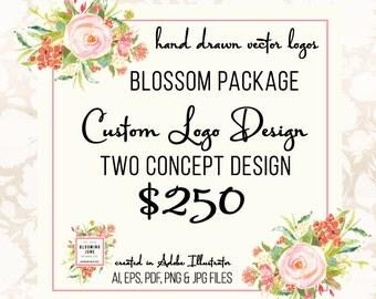 Custom Logo Design - Custom Photography Logo Custom Party Logo Custom Bakery Logo Design Custom Small Business Logo Graphic Design