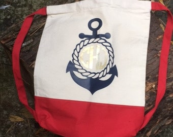 Custom Drawstring Bag for that sailor in your life!