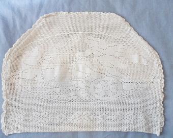 Antique Crocheted TEA COZY Chariot Design