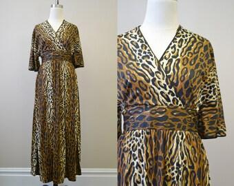 1970s Dela-Ann Leopard Loungewear