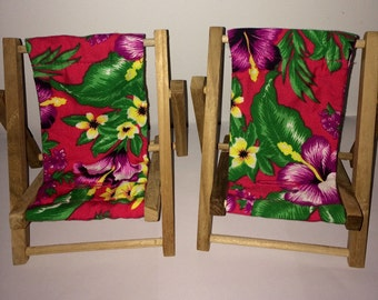 Large Hibiscus Tropical Print Cell Phone Chair Mamakohawaii