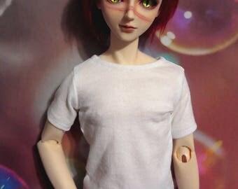 Plain white 70cm BJD Shirt SD13 Dollshe