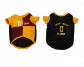 Hogwarts School Quidditch Jerseys Custom Dog and Cat Jersey Clothing