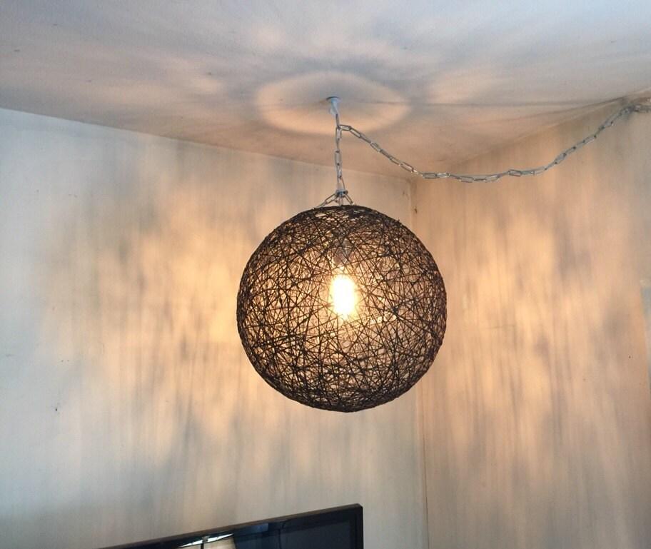 black sphere lamp modern pendant lamp design light pendant. Black Bedroom Furniture Sets. Home Design Ideas