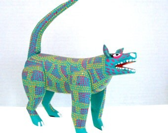 Hand Made & Painted Mexican Folk Art Creature — Signed By The Artist, Octavio Duarte