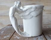 Vintage Cadillac Mug - Angel Mug - Hood Ornament Mug Gift Idea