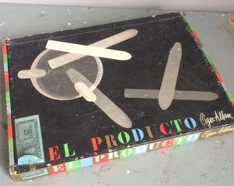 Vintage 1952 El Producto Cigar Album Designed by Paul Rand Mid Century Classic