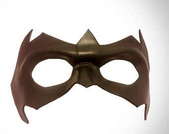 nightwing mask etsy. Black Bedroom Furniture Sets. Home Design Ideas